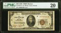 Small Size:Federal Reserve Bank Notes, Low Serial Number 00007002 Fr. 1870-A* $20 1929 Federal Reserve Bank Note. PMG Very Fine 20.. ...