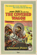Movie Posters:Western, The Covered Wagon (Paramount, 1923). Very Fine+ on Linen.