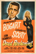 Movie Posters:Film Noir, Dead Reckoning (Columbia, 1947). Fine+ on Linen. O...