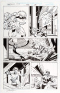Original Comic Art:Panel Pages, Paul Ryan and Bob Wiacek Fantastic Four #412 Story Page 19 Original Art (Marvel, 1996)....