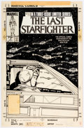 Original Comic Art:Covers, Jackson Guice The Last Starfighter #3 Cover Original Art (Marvel, 1984)....