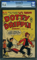 Golden Age (1938-1955):Humor, Dotty Dripple #16 - File Copy (Harvey, 1951) CGC NM+ 9.6 Cream to off-white pages.