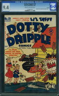 Golden Age (1938-1955):Humor, Dotty Dripple #19 - File Copy (Harvey, 1951) CGC NM 9.4 Cream to off-white pages.