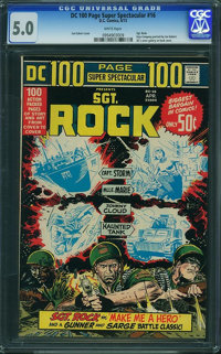 DC 100 Page Super Spectacular #16 (DC, 1973) CGC VG/FN 5.0 White pages