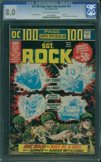 DC 100 Page Super Spectacular #16 (DC, 1973) CGC VF 8.0 Off-white to white pages