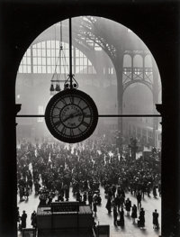 Alfred Eisenstaedt (American, 1898-1995) Farewell to Servicemen, Pennsylvania Station, New York City, 1