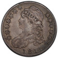 1811 50C Large 8, O-104a, R.1, VF30 PCGS. CAC. PCGS Population: (4/23 and 0/1+). NGC Census: (6/21 and 0/0+). VF30. Mint...