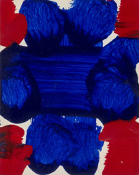 Sam Francis (1923-1994) Untitled, circa 1980/1990 Acrylic on paper 7-5/8 x 6 inches (19.4 x 15.2