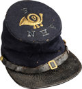 Militaria:Helmets, Civil War: State of New Hampshire Forage Cap.. ...