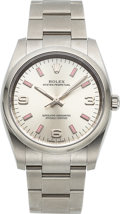 Timepieces:Wristwatch, Rolex, Oyster Perpetual Ref. M114200, 34mm Stainless Steel, Circa 2015. ...