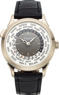 Timepieces:Wristwatch, Patek Philippe, Very Fine Ref. 5230G-001 World Time, 18k White Gold, Circa 2017. ...