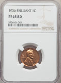 1936 1C Type Two -- Brilliant Finish PR65 Red NGC. NGC Census: (47/15). PCGS Population: (209/68). CDN: $1,150 Whsle. Bi...