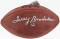 Football Collectibles:Balls, Terry Bradshaw Signed Football. ...