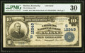 Harlan, KY - $10 1902 Plain Back Fr. 635 The Citizens National Bank Ch. # (S)12243 PMG Very Fine 30