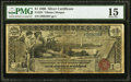 Large Size:Silver Certificates, Fr. 224 $1 1896 Silver Certificate PMG Choice Fine 15.. ...