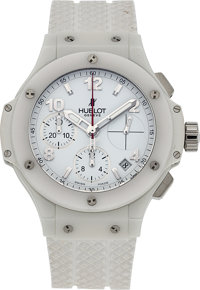 Hublot, Big Bang Aspen White Ceramic, Automatic Chronograph, Circa 2010