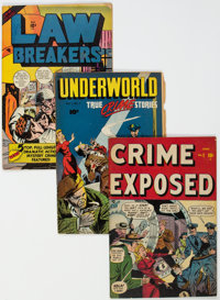 Golden Age Crime Group of 32 (Various Publishers, 1947-57) Condition: Average VG+.... (Total: 32 )