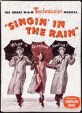"""Movie Posters:Musical, Singin' in the Rain (MGM, 1952). Folded, Fine. Uncut Pressbook (24 Pages, 12"""" X 17""""). Musical.. ..."""