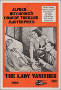 """Movie Posters:Hitchcock, The Lady Vanishes (B.E.F., R-1970s). Folded, Very Fine/Near Mint. Australian One Sheet (27"""" X 40""""). Hitchcock.. ..."""
