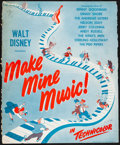 "Movie Posters:Animation, Make Mine Music (RKO, 1946). Folded, Fine. Cut Pressbook (Multiple Pages, 14"" X 17""). Animation.. ..."