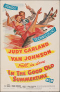 "Movie Posters:Musical, In the Good Old Summertime (MGM, 1949). Folded, Fine+. One Sheet (27"" X 41""). Musical.. ..."