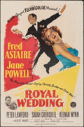 """Movie Posters:Musical, Royal Wedding (MGM, 1951). Folded, Fine+. One Sheet (27"""" X 41""""). Musical.. ..."""