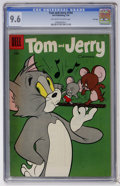 Silver Age (1956-1969):Cartoon Character, Tom and Jerry #144 File Copy (Dell, 1956) CGC NM+ 9.6 Off-white towhite pages....