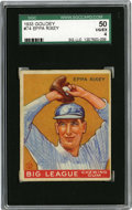 Baseball Cards:Singles (1930-1939), 1933 Goudey Eppa Rixey #74 SGC 50 VG/EX 4. The twenty-one yearveteran of the Major League mound posted 266 victories in se...