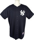 Baseball Collectibles:Uniforms, 2004 Don Mattingly Game Worn New York Yankees Batting PracticeJersey From Japanese Exhibition. At the onset of the 2004 Ma...