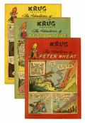 Golden Age (1938-1955):Miscellaneous, Peter Wheat Group (Bakers Associates, 1952-56) Condition: Average VF-....
