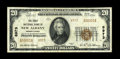 National Bank Notes:Pennsylvania, New Albany, PA - $20 1929 Ty. 2 The First NB Ch. # 8973. ...