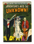 Golden Age (1938-1955):Horror, Adventures Into The Unknown #27 (ACG, 1952) Condition: FN+....
