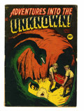Golden Age (1938-1955):Horror, Adventures Into The Unknown #4 (ACG, 1949) Condition: VG+....