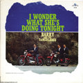 "Music Memorabilia:Recordings, Barry and the Tamerlanes ""I Wonder What She's Doing Tonight"" LPValiant 406 Mono (1963)...."