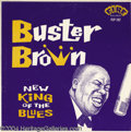 "Music Memorabilia:Recordings, Buster Brown ""New King of the Blues"" LP Fire 101 (102 on cover)Mono (1960)...."
