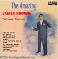 "Music Memorabilia:Recordings, James Brown ""The Amazing James Brown and the Famous Flames"" LP King743 Mono (1961)...."