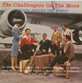 "Music Memorabilia:Recordings, ""The Challengers On the Move Surfing Around the World"" LP Vault 102Mono (1963)...."