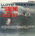 """Music Memorabilia:Recordings, Challengers """"Lloyd Thaxton Goes Surfing With the Challengers"""" LP Vault 101 Stereo (1963)...."""