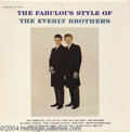 "Music Memorabilia:Recordings, Everly Brothers ""The Fabulous Style of the Everly Brothers"" LP Cadence 3040 Mono (1960)...."
