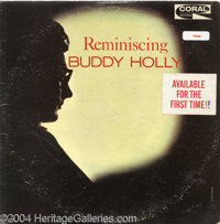 """Buddy Holly """"Reminiscing"""" Promo LP Coral 57426 Mono (1963). Texas' major contribution to the early glory days..."""