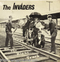 """Music Memorabilia:Recordings, Invaders """"On the Right Track"""" LP Justice Recording Co. 157 Stereo(1960s)...."""