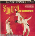 """Music Memorabilia:Recordings, Isley Brothers """"Shout!"""" LP RCA LSP-2156 Stereo (1959)...."""