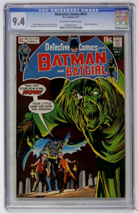 Detective Comics #413 (DC, 1971) CGC NM 9.4 Off-white to white pages