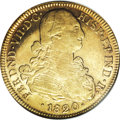 Colombia, Colombia: Ferdinand VII gold 8 Escudos 1820NR-JF,...