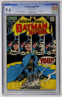 Detective Comics #408 (DC, 1971) CGC NM+ 9.6 Off-white to white pages