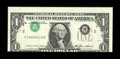 Error Notes:Inverted Third Printings, Fr. 1913-B $1 1985 Federal Reserve Note. Gem Crisp Uncirculated....
