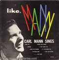 "Music Memorabilia:Recordings, Carl Mann ""Like, Mann"" LP Phillips International 60 Mono (1960)...."