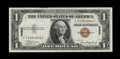Small Size:World War II Emergency Notes, Fr. 2300 $1 1935A Hawaii Silver Certificate. Gem Crisp Uncirculated.. ...