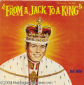 """Music Memorabilia:Recordings, Ned Miller """"From A Jack To A King"""" LP Fabor 1001 Mono (1963)...."""