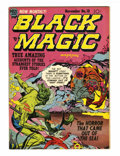 Golden Age (1938-1955):Horror, Black Magic #18 (Prize, 1952) Condition: FN+....